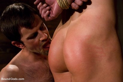 Photo number 5 from The Muscle Slave shot for Bound Gods on Kink.com. Featuring Romario Faria and Dante in hardcore BDSM & Fetish porn.
