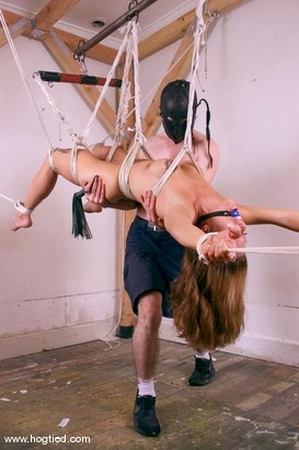 Photo number 4 from Ruby shot for Hogtied on Kink.com. Featuring Ruby in hardcore BDSM & Fetish porn.