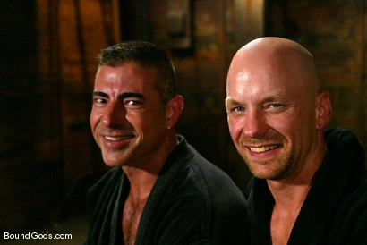 Photo number 15 from Master Nick Moretti and slave chad rock shot for Bound Gods on Kink.com. Featuring Nick Moretti and Chad Rock in hardcore BDSM & Fetish porn.