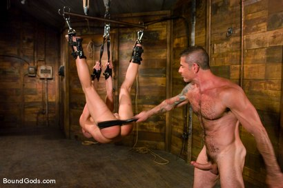 Photo number 12 from Master Nick Moretti and slave chad rock shot for Bound Gods on Kink.com. Featuring Nick Moretti and Chad Rock in hardcore BDSM & Fetish porn.