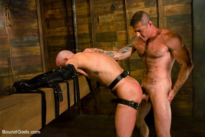 Photo number 10 from Master Nick Moretti and slave chad rock shot for Bound Gods on Kink.com. Featuring Nick Moretti and Chad Rock in hardcore BDSM & Fetish porn.