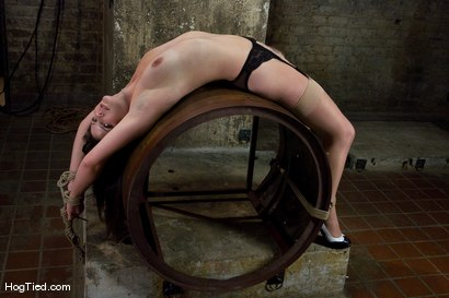 Photo number 8 from Bobbi Starr starts off the New Year screaming in orgasm shot for Hogtied on Kink.com. Featuring Bobbi Starr in hardcore BDSM & Fetish porn.