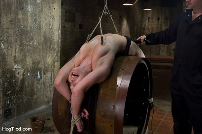 Photo number 11 from Bobbi Starr starts off the New Year screaming in orgasm shot for Hogtied on Kink.com. Featuring Bobbi Starr in hardcore BDSM & Fetish porn.