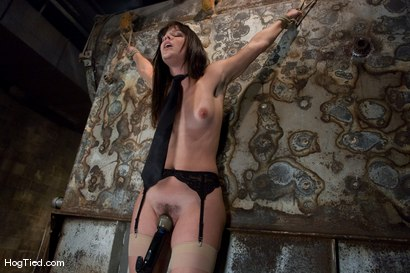 Photo number 7 from Bobbi Starr starts off the New Year screaming in orgasm shot for Hogtied on Kink.com. Featuring Bobbi Starr in hardcore BDSM & Fetish porn.