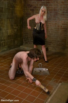 Photo number 5 from Slave Driver shot for Men In Pain on Kink.com. Featuring Kade and Lorelei Lee in hardcore BDSM & Fetish porn.