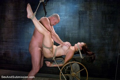 Photo number 14 from Bella Rossi shot for Sex And Submission on Kink.com. Featuring Mark Davis and Bella Rossi in hardcore BDSM & Fetish porn.