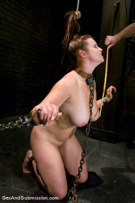 Photo number 5 from Bella Rossi shot for Sex And Submission on Kink.com. Featuring Mark Davis and Bella Rossi in hardcore BDSM & Fetish porn.