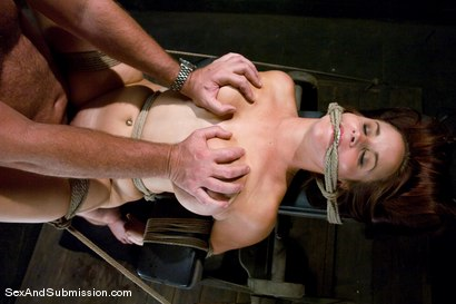 Photo number 12 from Bella Rossi shot for Sex And Submission on Kink.com. Featuring Mark Davis and Bella Rossi in hardcore BDSM & Fetish porn.