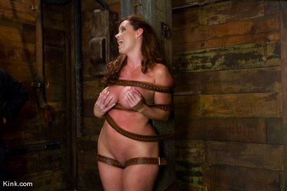 Photo number 1 from Whip or Tickle 3<br />Christina Carter endures her punishment. shot for Kink Raw Test Shoots on Kink.com. Featuring Christina Carter in hardcore BDSM & Fetish porn.