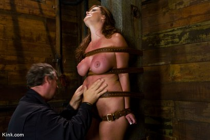 Photo number 12 from Whip or Tickle 3<br />Christina Carter endures her punishment. shot for Kink Raw Test Shoots on Kink.com. Featuring Christina Carter in hardcore BDSM & Fetish porn.