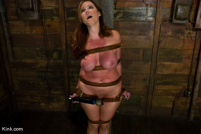 Photo number 13 from Whip or Tickle 3<br />Christina Carter endures her punishment. shot for Kink Raw Test Shoots on Kink.com. Featuring Christina Carter in hardcore BDSM & Fetish porn.