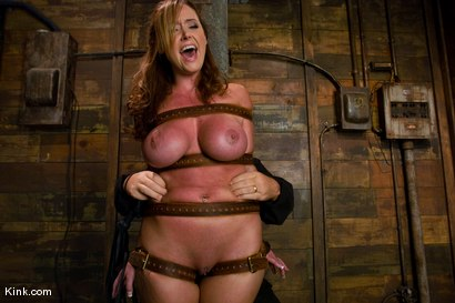 Photo number 4 from Whip or Tickle 3<br />Christina Carter endures her punishment. shot for Kink Raw Test Shoots on Kink.com. Featuring Christina Carter in hardcore BDSM & Fetish porn.