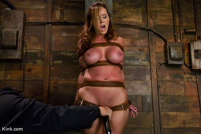 Photo number 5 from Whip or Tickle 3<br />Christina Carter endures her punishment. shot for Kink Raw Test Shoots on Kink.com. Featuring Christina Carter in hardcore BDSM & Fetish porn.