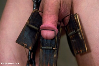 Photo number 8 from The Rat Boy shot for Bound Gods on Kink.com. Featuring Christian Owen and Tyler Saint in hardcore BDSM & Fetish porn.