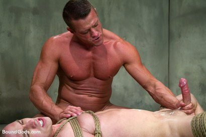 Photo number 14 from The Rat Boy shot for Bound Gods on Kink.com. Featuring Christian Owen and Tyler Saint in hardcore BDSM & Fetish porn.