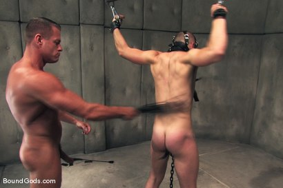 Photo number 7 from The Rat Boy shot for Bound Gods on Kink.com. Featuring Christian Owen and Tyler Saint in hardcore BDSM & Fetish porn.