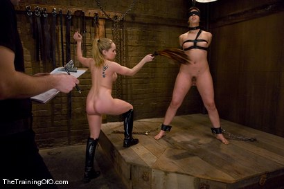 Photo number 7 from The Training Of Satine Phoenix, Day Three shot for The Training Of O on Kink.com. Featuring Satine Phoenix, Aiden Starr and Maestro in hardcore BDSM & Fetish porn.
