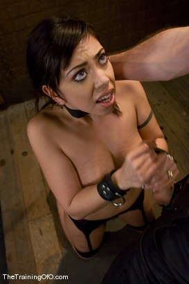 Photo number 13 from The Training of Satine Phoenix, Day Four shot for The Training Of O on Kink.com. Featuring Satine Phoenix and Maestro in hardcore BDSM & Fetish porn.