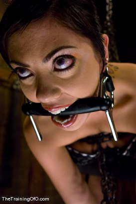 Photo number 4 from The Training of Satine Phoenix, Day Four shot for The Training Of O on Kink.com. Featuring Satine Phoenix and Maestro in hardcore BDSM & Fetish porn.