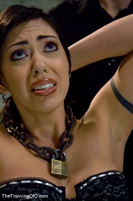 Photo number 2 from The Training of Satine Phoenix, Day Four shot for The Training Of O on Kink.com. Featuring Satine Phoenix and Maestro in hardcore BDSM & Fetish porn.
