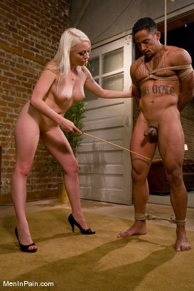 Photo number 6 from Tease and Denial shot for Men In Pain on Kink.com. Featuring Lobo and Lorelei Lee in hardcore BDSM & Fetish porn.