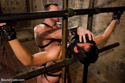 Photo number 9 from Master Tober Brandt and slave brandon hawk shot for Bound Gods on Kink.com. Featuring Tober Brandt and Brandon Hawk in hardcore BDSM & Fetish porn.