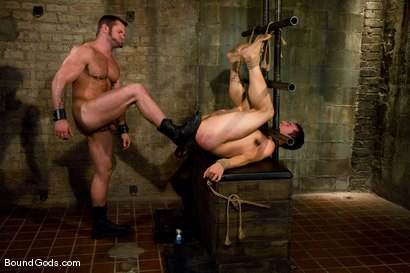 Photo number 10 from Master Tober Brandt and slave brandon hawk shot for Bound Gods on Kink.com. Featuring Tober Brandt and Brandon Hawk in hardcore BDSM & Fetish porn.