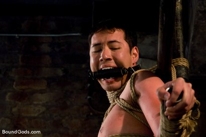 Photo number 7 from Master Tober Brandt and slave brandon hawk shot for Bound Gods on Kink.com. Featuring Tober Brandt and Brandon Hawk in hardcore BDSM & Fetish porn.