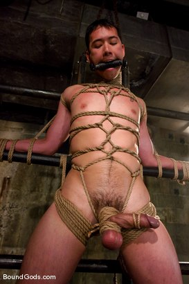 Photo number 4 from Master Tober Brandt and slave brandon hawk shot for Bound Gods on Kink.com. Featuring Tober Brandt and Brandon Hawk in hardcore BDSM & Fetish porn.