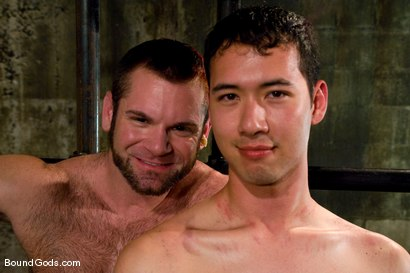 Photo number 16 from Master Tober Brandt and slave brandon hawk shot for Bound Gods on Kink.com. Featuring Tober Brandt and Brandon Hawk in hardcore BDSM & Fetish porn.