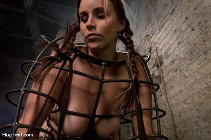 Photo number 5 from Hot Bella double teamed and made to slurp her own squirt shot for Hogtied on Kink.com. Featuring Bella Rossi in hardcore BDSM & Fetish porn.