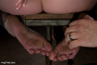 Photo number 6 from Horny girls also cum in small packages: Megan Murray shot for Hogtied on Kink.com. Featuring Megan Murray in hardcore BDSM & Fetish porn.