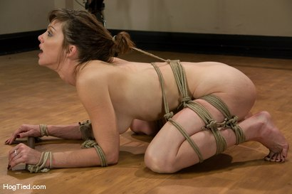 Photo number 12 from Yoga instructor Carrie's orgasms are streached to their limits... shot for Hogtied on Kink.com. Featuring Carrie in hardcore BDSM & Fetish porn.