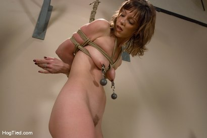 Photo number 2 from Yoga instructor Carrie's orgasms are streached to their limits... shot for Hogtied on Kink.com. Featuring Carrie in hardcore BDSM & Fetish porn.
