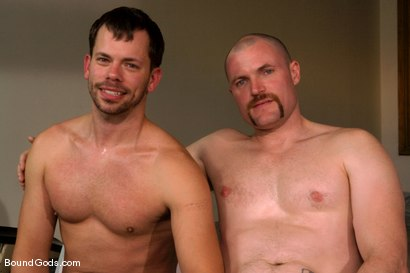 Photo number 15 from Master Steve Trevor and slave chad manning shot for Bound Gods on Kink.com. Featuring Steve Trevor and Chad Manning in hardcore BDSM & Fetish porn.