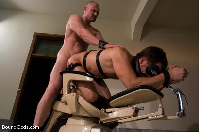 Photo number 11 from Master Steve Trevor and slave chad manning shot for Bound Gods on Kink.com. Featuring Steve Trevor and Chad Manning in hardcore BDSM & Fetish porn.