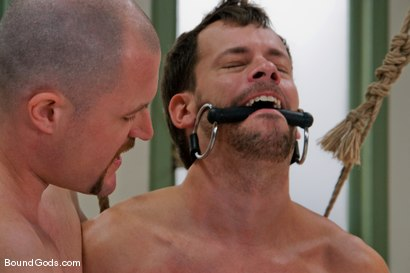 Photo number 8 from Master Steve Trevor and slave chad manning shot for Bound Gods on Kink.com. Featuring Steve Trevor and Chad Manning in hardcore BDSM & Fetish porn.