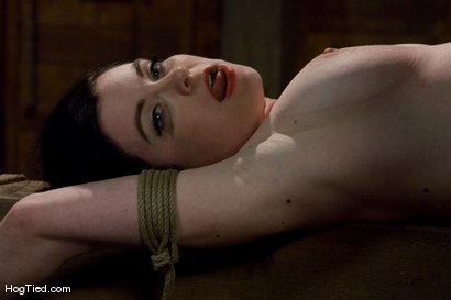 Photo number 12 from Sybil Hawthorne: Retro Beauty LOVES pain to get off shot for Hogtied on Kink.com. Featuring Sybil Hawthorne in hardcore BDSM & Fetish porn.
