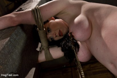 Photo number 4 from Sybil Hawthorne: Retro Beauty LOVES pain to get off shot for Hogtied on Kink.com. Featuring Sybil Hawthorne in hardcore BDSM & Fetish porn.