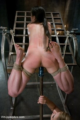 Photo number 11 from Mina Leigh shot for Whipped Ass on Kink.com. Featuring Maitresse Madeline Marlowe  and Mina Leigh in hardcore BDSM & Fetish porn.