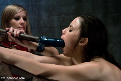Photo number 13 from Mina Leigh shot for Whipped Ass on Kink.com. Featuring Maitresse Madeline Marlowe  and Mina Leigh in hardcore BDSM & Fetish porn.