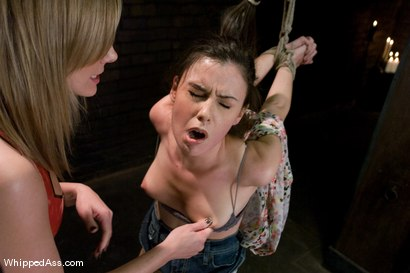 Photo number 4 from Mina Leigh shot for Whipped Ass on Kink.com. Featuring Maitresse Madeline Marlowe  and Mina Leigh in hardcore BDSM & Fetish porn.