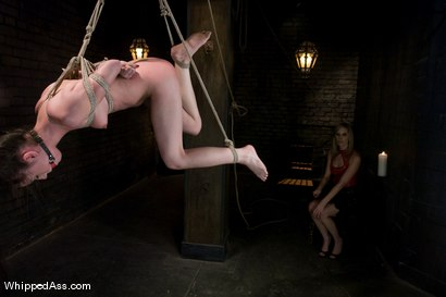 Photo number 5 from Mina Leigh shot for Whipped Ass on Kink.com. Featuring Maitresse Madeline Marlowe  and Mina Leigh in hardcore BDSM & Fetish porn.