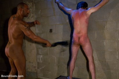 Photo number 4 from The Crazy Perv and His Prey shot for Bound Gods on Kink.com. Featuring Dante and CJ Madison in hardcore BDSM & Fetish porn.