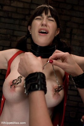 Photo number 3 from Natalie Minx shot for Whipped Ass on Kink.com. Featuring Maitresse Madeline Marlowe  and Natalie Minx in hardcore BDSM & Fetish porn.