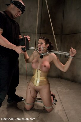 Photo number 9 from Good Girl shot for Sex And Submission on Kink.com. Featuring Derrick Pierce and Penny Barber in hardcore BDSM & Fetish porn.
