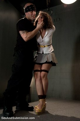 Photo number 2 from Good Girl shot for Sex And Submission on Kink.com. Featuring Derrick Pierce and Penny Barber in hardcore BDSM & Fetish porn.