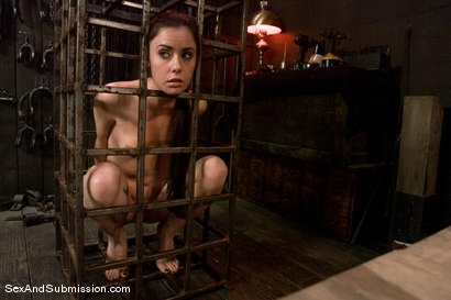 Photo number 10 from Eager to Please shot for Sex And Submission on Kink.com. Featuring Derrick Pierce and Mina Leigh in hardcore BDSM & Fetish porn.