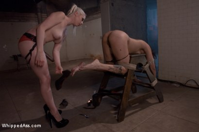 Photo number 15 from Alicia Tease shot for Whipped Ass on Kink.com. Featuring Lorelei Lee and Alicia Tease in hardcore BDSM & Fetish porn.