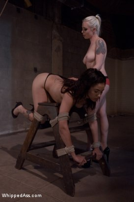 Photo number 6 from Alicia Tease shot for Whipped Ass on Kink.com. Featuring Lorelei Lee and Alicia Tease in hardcore BDSM & Fetish porn.